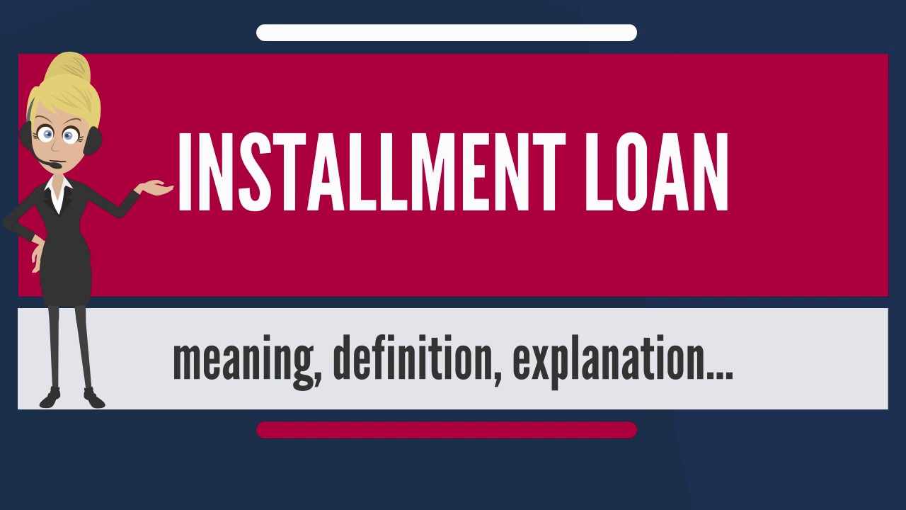 installment loans and personal loans work